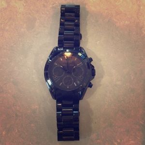 Women's Black Michael Kors Watch